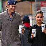 """Mila Kunis responde """"quizás"""" sobre matrimonio con Ashton Kutcher"""