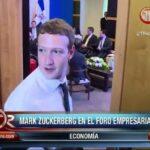 Mark Zuckerberg de Facebook y su blooper en la Cumbre de las Américas