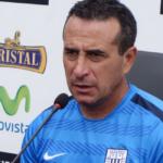 """Alianza Lima: DT Sanguinetti dice que aún """"no han perdido la guerra"""""""