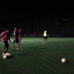 Copa Libertadores: Sporting Cristal entrenó en tinieblas