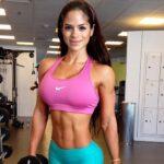 Michelle Lewin en Lima: 'Diosa del fitness' enamora con su presencia