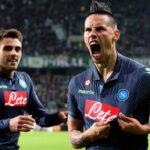 Europa League: Nápoles completa el desastre alemán, goleó 4-1 a Wolfsburgo