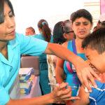 Vacuna a tu hijo: jornadas arrancan el 25 de abril