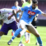 Liga italiana: Fiorentina con Juan Vargas cae 3-0 ante Napoli