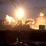 Se registra explosión en planta química de China