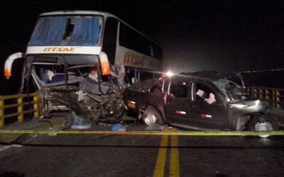Panamericana Norte: dos muertos deja choque accidente de tránsito