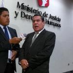 Belaunde Lossio: Ministro de Justicia se pronuncia sobre revocación de amparo
