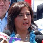 Programas sociales: expremier Ana Jara plantea pacto electoral