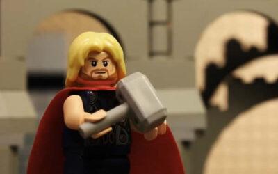 """En YouTube ya se puede ver el último tráiler de """"Avengers: Age of Ultron"""" recreado con piezas de Lego. El video es obra del animador italiano Antonio Toscano."""