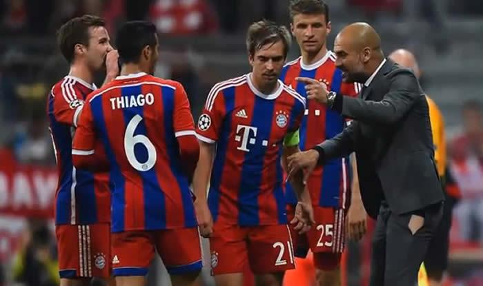 En medio de la lluvia de goles que le aplicó el Bayern Múnich al Oporto por la Champions un curioso hecho no pasó inadvertido para la prensa: el pantalón roto de Pep Guardiola.