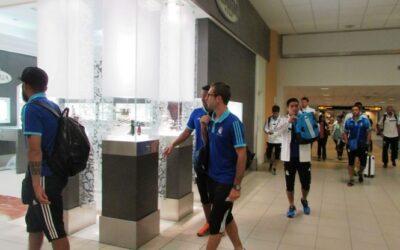 Sporting Cristal viajó a Venezuela. Foto: Facebook Hablemos De Cristal.