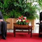 Cuba: vicepresidente dialogó con el gobernador de Nueva York (VIDEO)