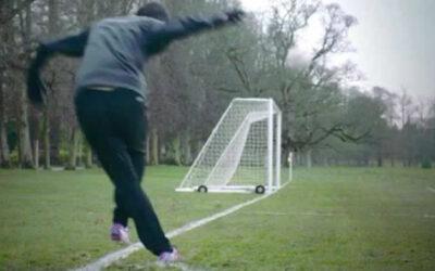 El volante argentino, Ángel Di María, sorprende en Vine con un video para la marca Adidas en el que marca un gol olímpico de rabona