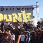 "Chile: Suben a tres los muertos en avalancha humana en recital ""punk"""