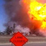 EEUU: 15 heridos al explotar gasoducto en campo de tiro de la policía (VIDEO)