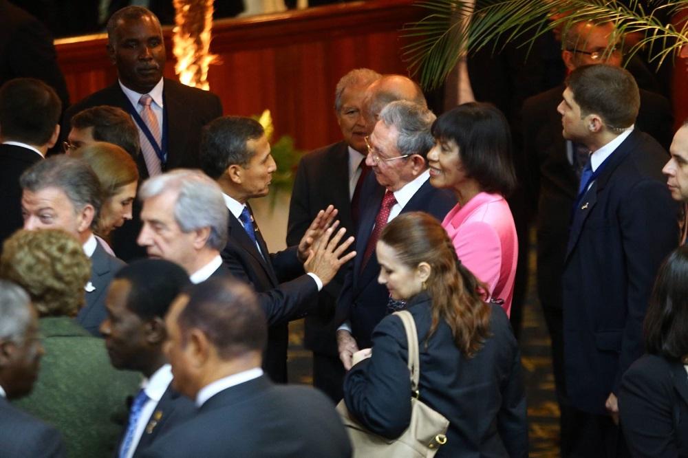 Ollanta Humala saluda reincorporación de Cuba a Cumbre de las Américas.