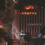 Los Ángeles: un gran incendio se produce en edificio comercial