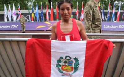 El Congreso de la República rindió la tarde de hoy un homenaje a la atleta Inés Melchor debido a su triunfo en una maratón internacional desarrollada el domingo último en Chile.