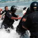 Costa Verde: surfistas y policías se enfrentan por rocas en La Pampilla