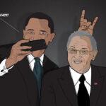 """El trío Obama-Castro-Maduro inunda de """"memes"""" las redes sociales"""