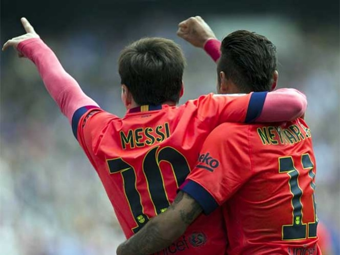 El Barcelona logró este sábado una victoria fundamental en su camino hacia el título de la Liga BBVA al superar al Espanyol por 2 a 0 en campo contrario.