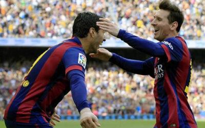 El Barcelona dio este sábado un paso clave para lograr el título de la Liga española tras derrotar de local al Valencia por 2 a 0.