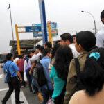Metropolitano: reportan caos en estaciones de Lima Norte