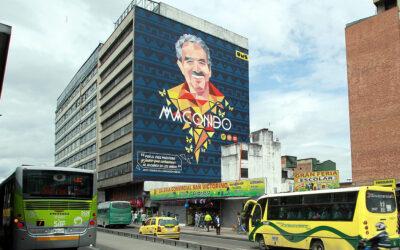 García Márquez: artistas urbanos le rinden tributo