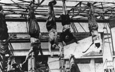 Hace 70 años, a pocos días del fin de la Segunda Guerra Mundial, Benito Mussolini era fusilado por partisanos italianos junto a su amante Clara Petacci.