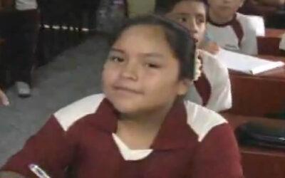 Catalina Hilario, de 9 años, cursa el quinto grado de primaria en el colegio Monserrat de Carabayllo, pero postuló a la Universidad Enrique Guzmán y Valle (La Cantuta) el domingo 12 de abril y logró un cupo.