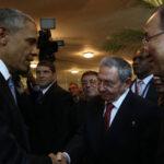 Cumbre de las Américas: histórico saludo de Barack Obama y Raúl Castro