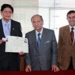 ANP incorpora a director de Radio Santa Rosa como Socio Honorario