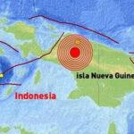 Terremoto de 6,8 grados registran en Papúa Nueva Guinea