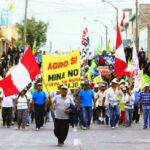 Tía María: se inicia paro antiminero de 24 horas en Arequipa