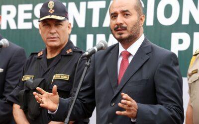Gerald Oropeza es el objetivo prioritario de la Policía, afirmó el ministro del Interior José Luis Pérez Guadalupe.
