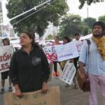 By pass 28 de Julio: jóvenes realizan otro plantón pacífico