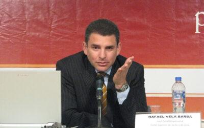 El coordinador de la Fiscalía de Lavado de Activos y Pérdida de Dominio, Rafael Vela Barba, desmintió esta mañana que el equipo fiscal a cargo del llamado Caso Sánchez Paredes haya quedado desarticulado.