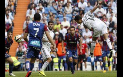 Real Madrid goleó 3 a 0 al Eibar por la Liga BBVA.