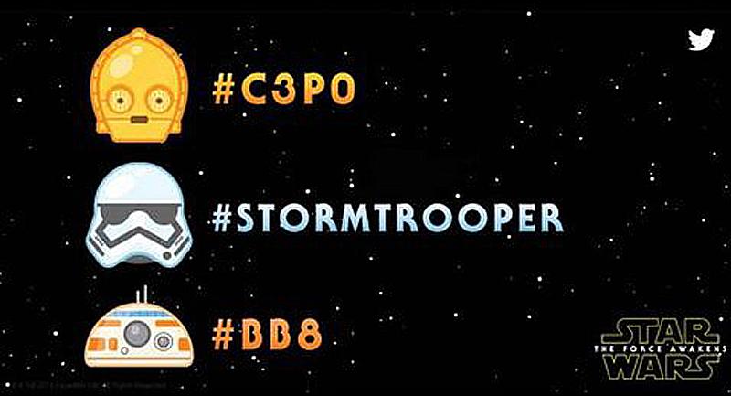 Twitter estrena emoticones de Star Wars