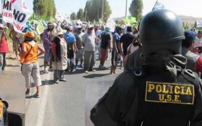 El dirigente del Frente de Defensa del Valle de Tambo, José Julio Gutiérrez, aseguró que es un montaje el audio en el que presuntamente pide dinero para levantar el paro contra Tía María.
