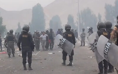El director de la Policía Nacional del Perú (PNP), Jorge Flores Goigochea, anunció que se investigarán las denuncias sobre agresiones de policías a manifestantes al proyecto Tía María, en Arequipa.