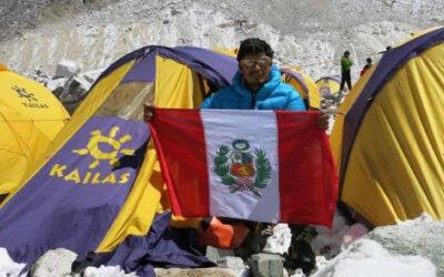 El montañista peruano Víctor Rímac se encontraba en el monte Everest durante el terremoto de 7.9 en la escala de Ritcher que sacudió este sábado Nepal.