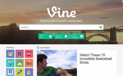 Vine ofrece nuevas alternativas para publicar sus videos de seis segundos en las redes sociales, tras remodelar la función de compartir y ampliar esta posibilidad.