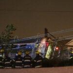 EEUU: cinco muertos al descarrilarse un tren en Filadelfia