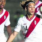 Cristian Benavente triste tras quedar fuera de la Copa América