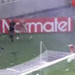 Feroz batalla campal en estadio mundialista de Fortaleza (Vídeo)