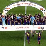 Barcelona campeón de la Copa del Rey y logra el doblete en España
