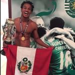 André Carrillo: Sporting de Lisboa campeón de la Copa de Portugal