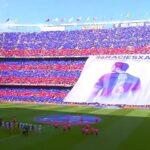Barcelona de fiesta: Xavi tuvo emotiva despedida en el Camp Nou