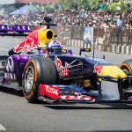 Cierran calles por exhibición de Fórmula Uno (MAPA)